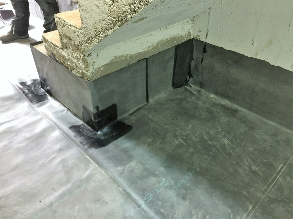 BAUDICHT EPDM Bauwerksabdichtung bei der Altbausanierung