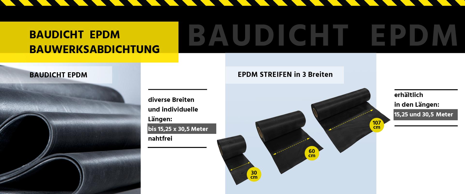 BAUDICHT EPDM Bauwerksabdichtung Produkte