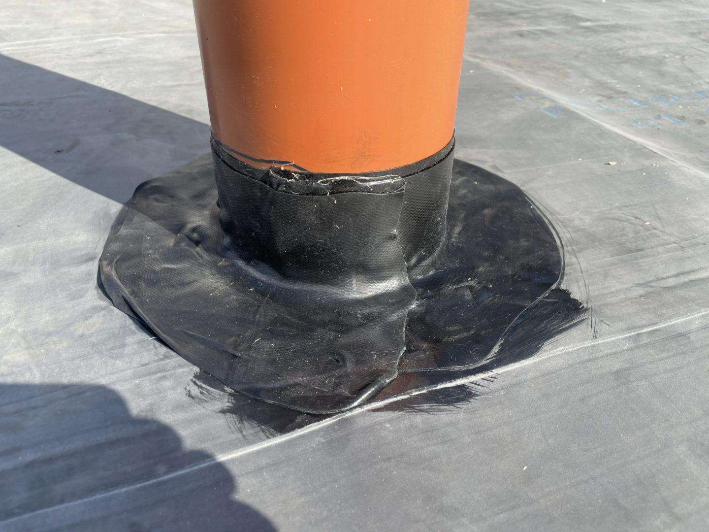 BAUDICHT EPDM Bauwerksabdichtung Rohrdurchdringung abdichten