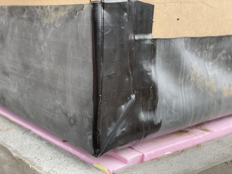 BAUDICHT EPDM Bauwerksabdichtung Hochzug Außenecke