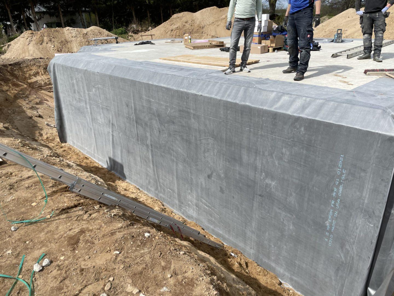 BAUDICHT EPDM Bauwerksabdichtung Kellerwände abdichten