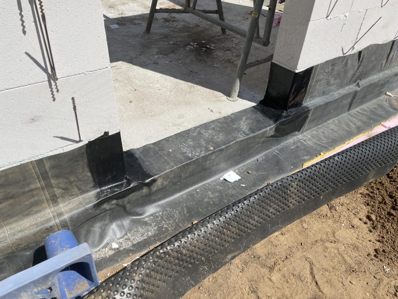 BAUDICHT EPDM Bauwerksabdichtung Türelemente Ecken abdichten