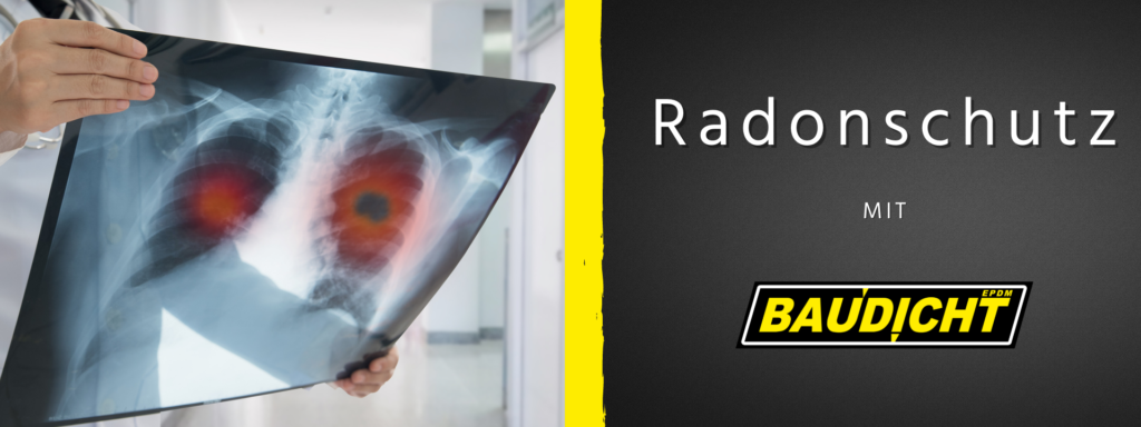 Radonschutz Radioaktives Gas aus dem Erdreich