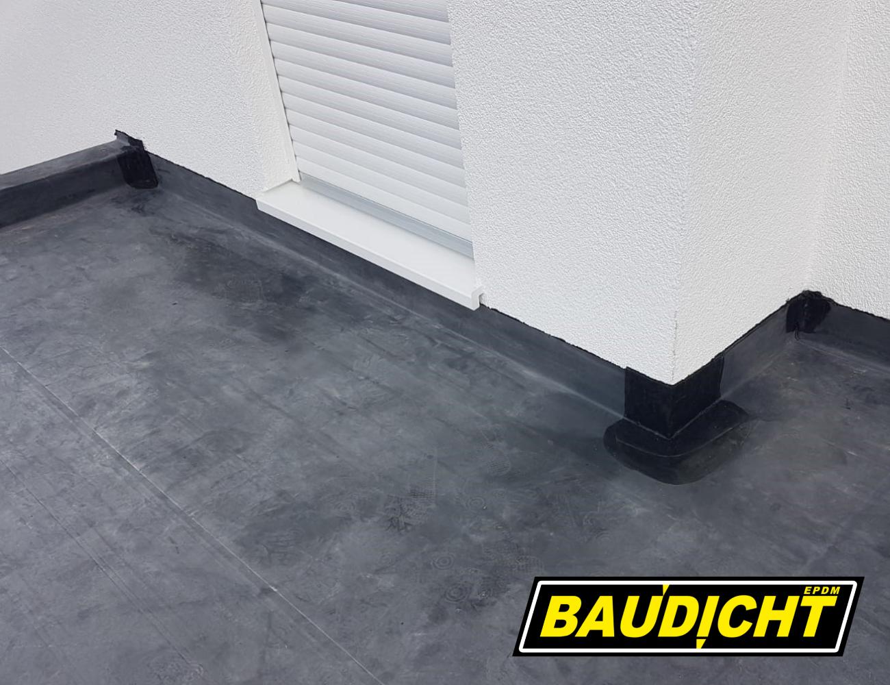 BAUDICHT EPDM Terrassenabdichtung von Außen- und Innenecken